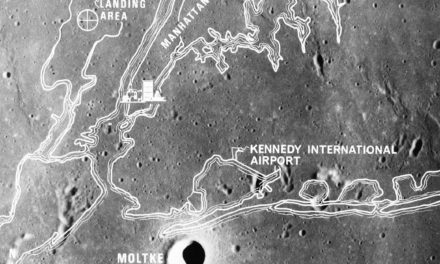 Apollo 11 and Landing Site 2 in the Sea of Tranquility