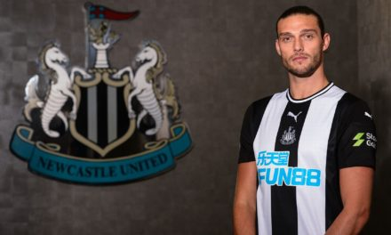 ANDY CARROLL RETURNS TO NEWCASTLE UNITED