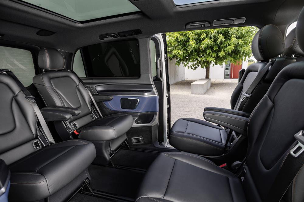 MERCEDES-BENZ EQV: WORLD PREMIERE FOR THE FIRST FULLY