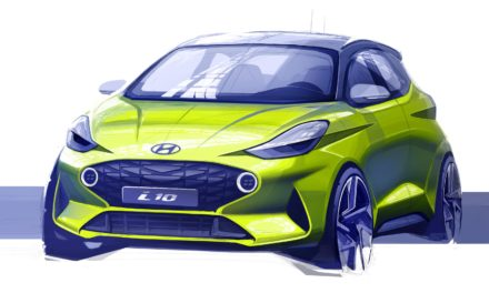 HYUNDAI MOTOR REVEALS FIRST SKETCH OF THE ALL-NEW i10