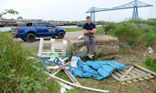 Scott Bros. issues health warning over summer fly-tipping threat