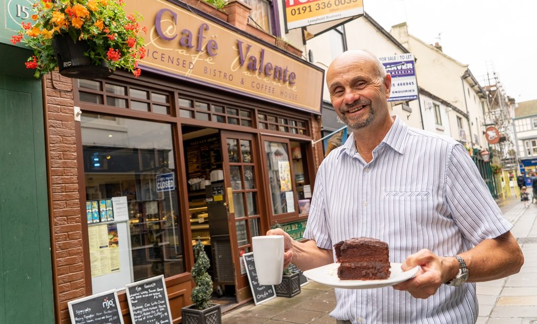 Darlington café owner swapping the main course for the golf course