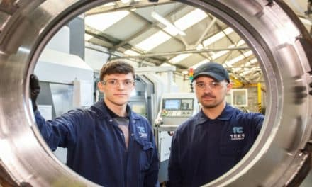 Tees Components' commitment to apprenticeship recognised by major awards