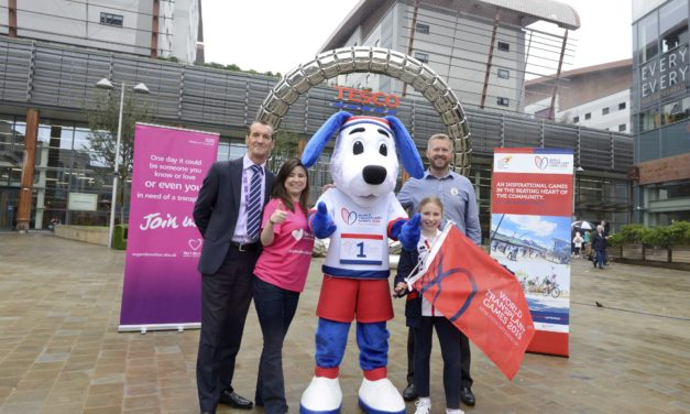 Trinity Square Gateshead supports World Transplant Games