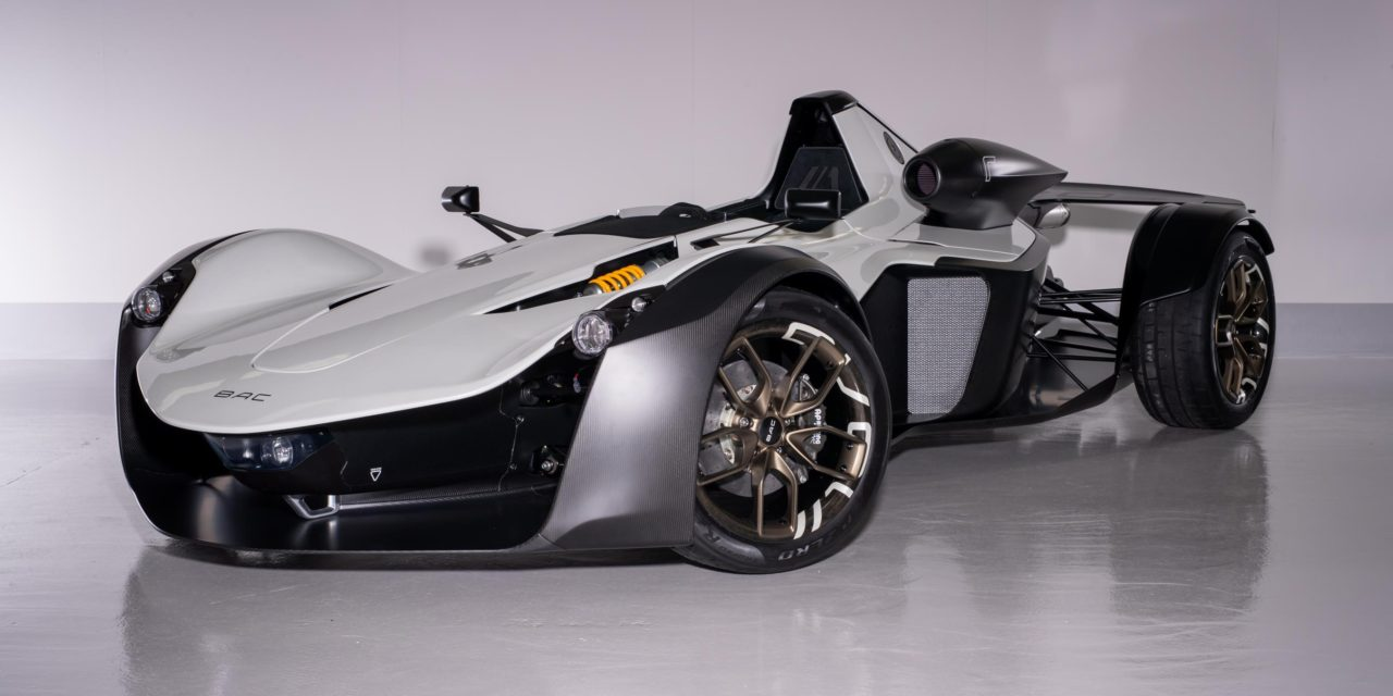 BRIGGS AUTOMOTIVE COMPANY CUTS DESIGN-TO-MANUFACTURE TIME OF AIR INTAKE FOR NEW BAC MONO R SUPERCAR
