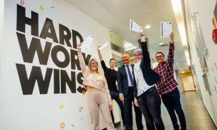 Students celebrate vocational results day