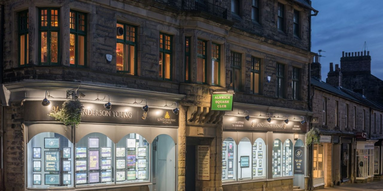 BUOYANT ALNWICK ECONOMY BOOSTS PROPERTY SALES FOR SANDERSON YOUNG