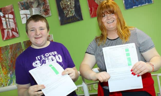 Academy celebrates as 100 per cent of pupils achieve nationally recognised accreditation