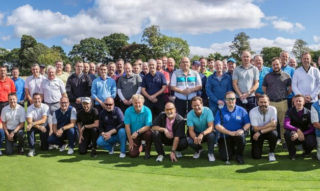 Teeing up a boost for North-East hospice
