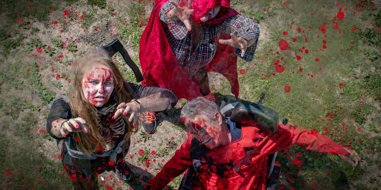 Fundraisers braced for zombie plague