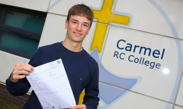 Harry is bowled over by GCSE results