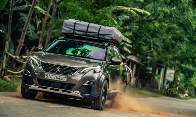 ONE-OFF PEUGEOT 3008 SUV IS READY FOR ADVENTURE