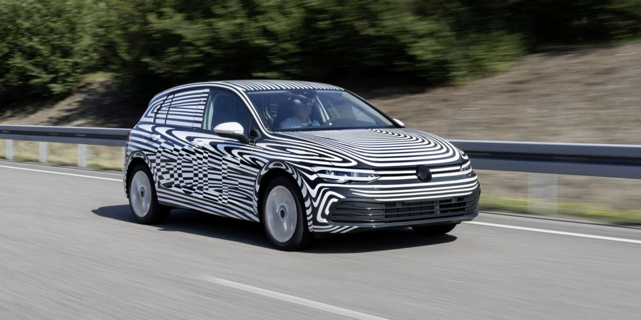 FINAL TESTING PHASE OF THE NEW GOLF HAS STARTED