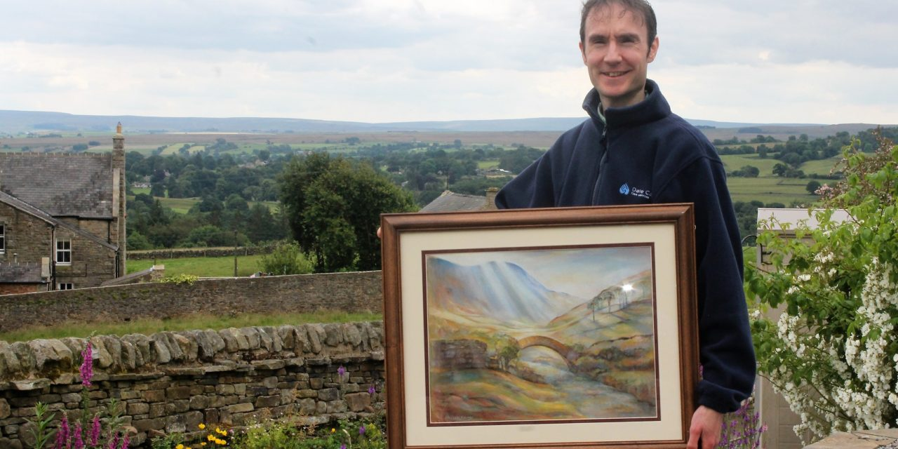 Artist inspired by his role as a carer