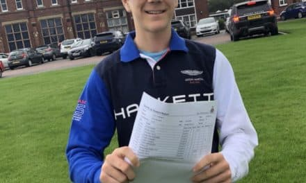 Severely allergic Toby engineers a bright future with top grades in GCSEs