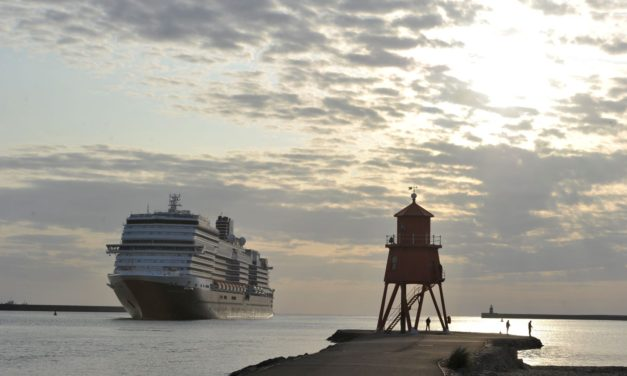 Cruising Forward: Port of Tyne welcomes largest cruise ship to-date