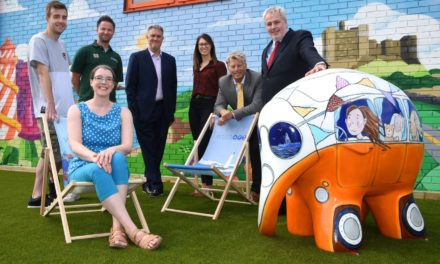 """Tyne Tunnels welcomes """"ele-fantastic"""" Elenora for Elmer's Great North Parade"""