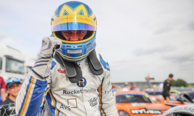 North East Racer McKenna Victorious In Front Of BTCC Crowd