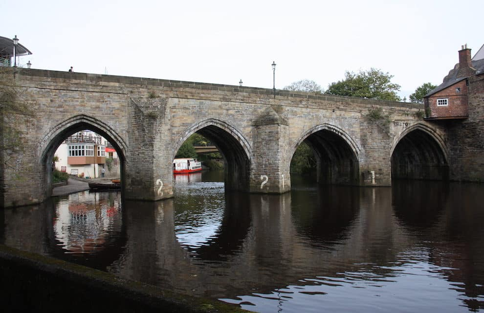 Durham's Old Elvet Bridge, two years on from preservation work