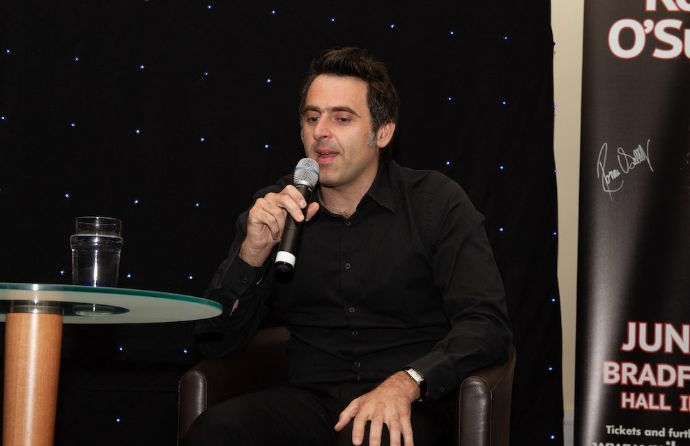 SNOOKER LEGEND CUED UP FOR NORTH EAST APPEARANCE…