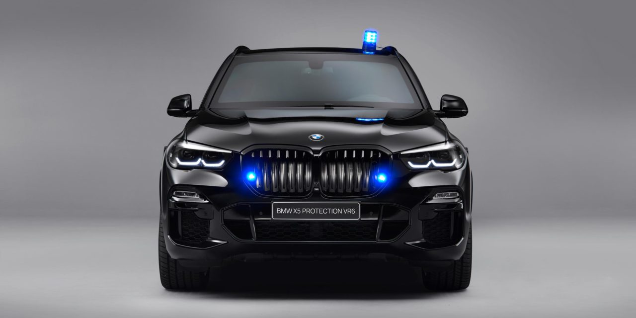UNCOMPROMISING PROTECTION AND SUPERIORITY: THE NEW BMW X5 PROTECTION VR6