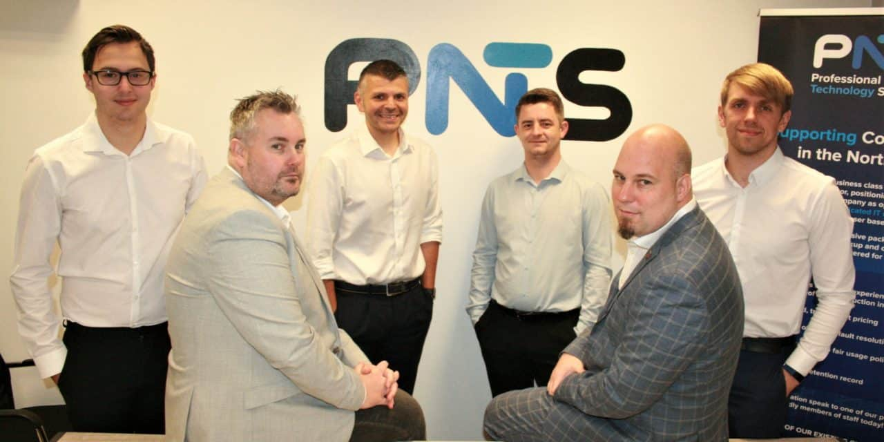 IT specialist on track with expansion plans