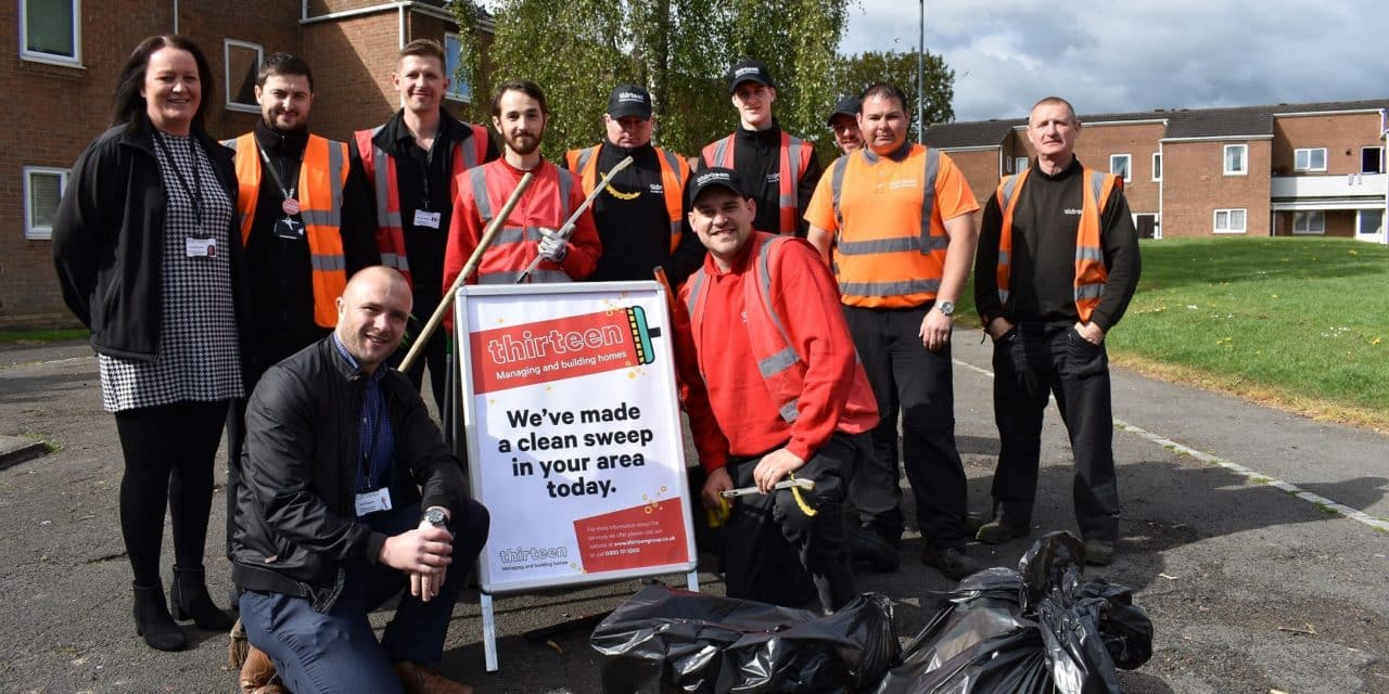 Partnership projects improve the Parkfield estate