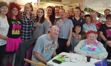 Party time to mark Pelton care home's 30th year