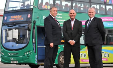 Royal seal of approval for Go North East and Gateshead College's training initiative