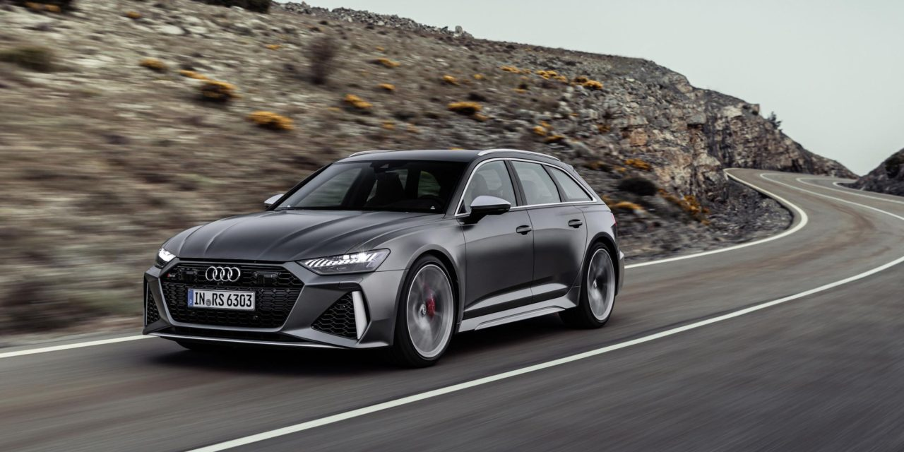 AUDI RS 6 AVANT – THE ICON RETURNS AS 600PS, 800NM MILD HYBRID