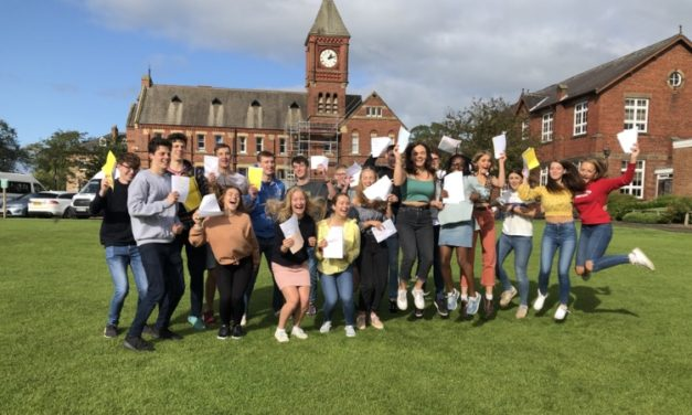 Ripon Grammar School celebrates outstanding results
