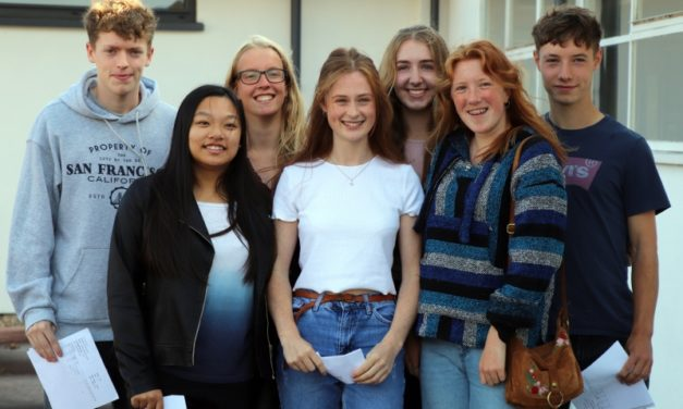 Students celebrate A-level success at Richmond Sixth Form College
