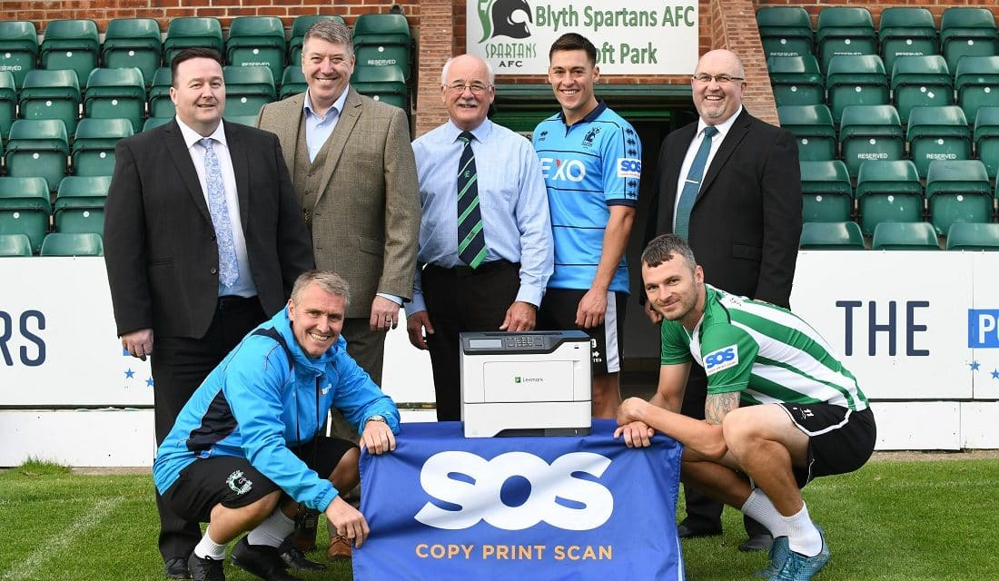 NEW SEASON AND NEW SPONSOR FOR BLYTH SPARTANS