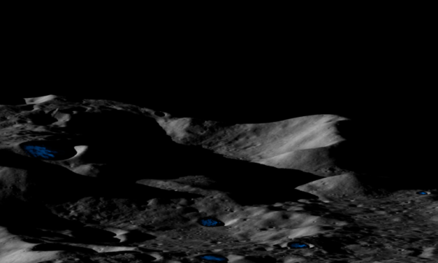 The Moon and Mercury May Have Thick Ice Deposits