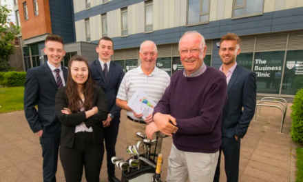 Students tee-up strategy to help drive golf tourism
