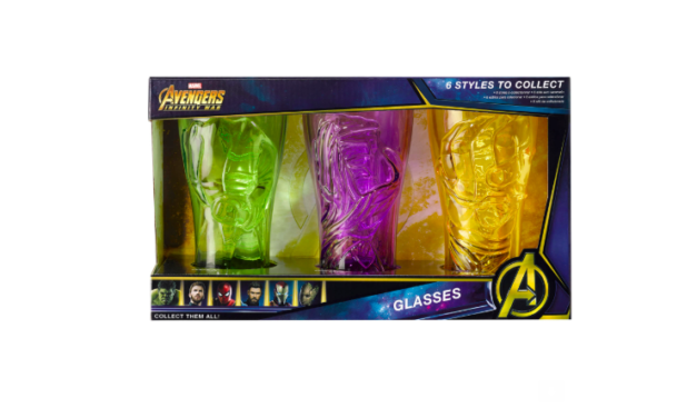 Infinity Stone Glasses Hold All The Power