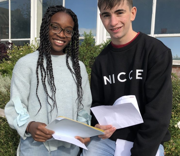 Ripon Grammar head girl and boy lead from the front