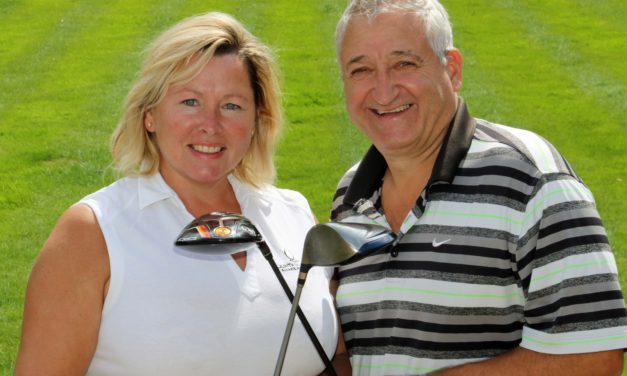 Charity golfers prepare to tee off for the final time