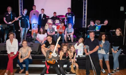 Youngsters beat the drum for summer music school