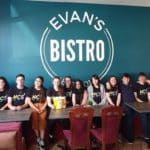 Teenagers take-over restaurant in aid of charity