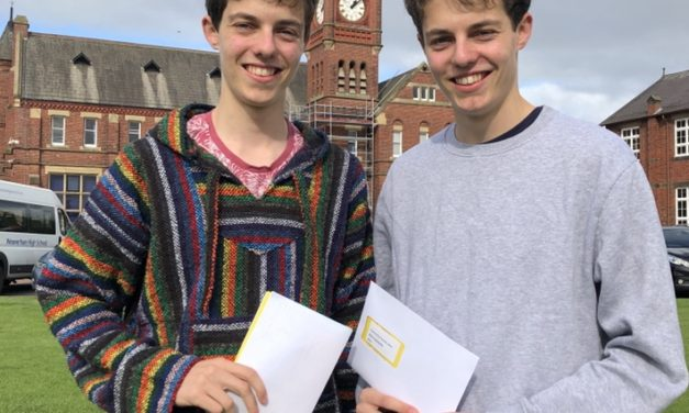 Twin brothers heading to Oxford and Cambridge