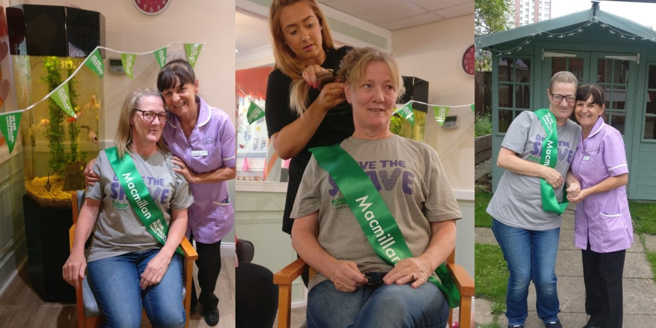 Braving the shave for Macmillan Cancer Support