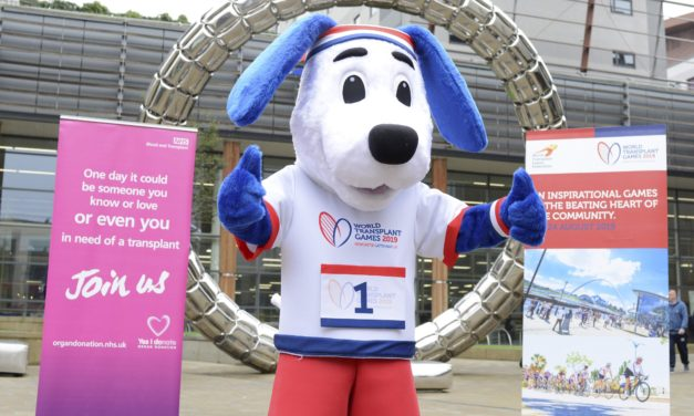 World Transplant Games mascot launched