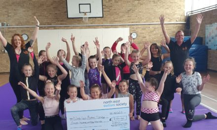Cartwheely good effort – North-East gymnasts take a tumble for charity