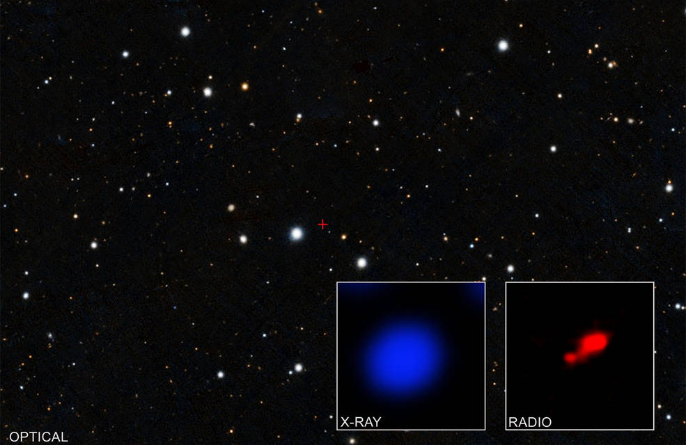 Cloaked Black Hole Discovered in Early Universe Using NASA's Chandra