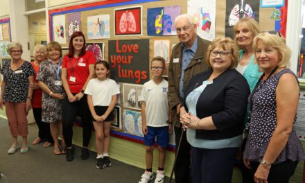 """""""Love your lungs!"""" education inspires children's art work"""