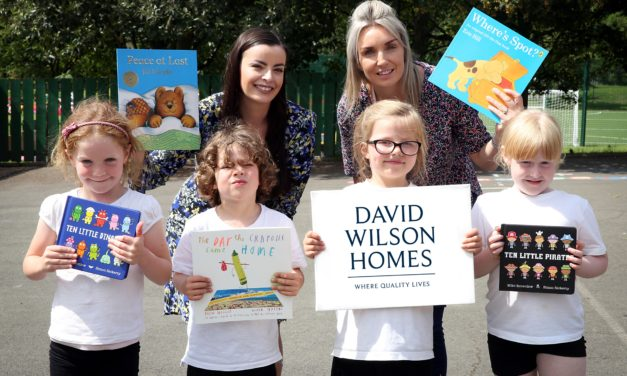 Local housebuilder encourages reading over summer with Durham pupils