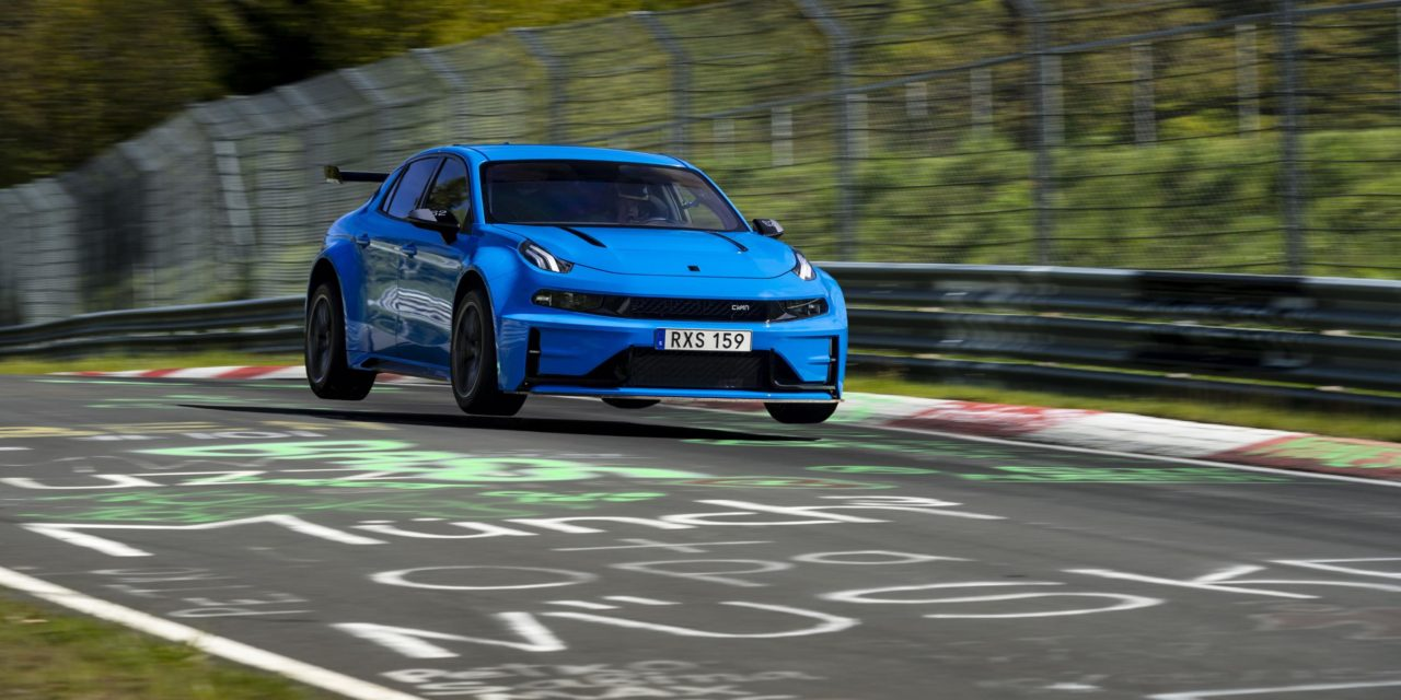 CYAN RACING BREAKS TWO NÜRBURGRING RECORDS WITH LYNK & CO