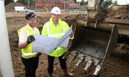 £8.2 million homes scheme underway in grounds of historic hall