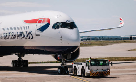 BRITISH AIRWAYS' A350 GEARS UP FOR ITS FIRST LONG HAUL FLIGHT TO DUBAI